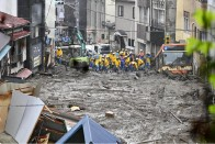 Japan: 2 Dead, 20 Missing As Mudslide Wreaks Havoc In Atami