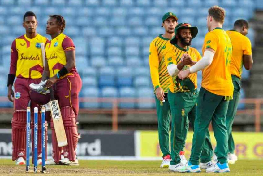 WI Vs SA: South Africa Beat West Indies By 25 Runs, Take Series 3-2