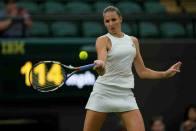 Wimbledon 2021: Czech's Karolina Pliskova Beat Viktorija Golubic, First To Reach Semifinals