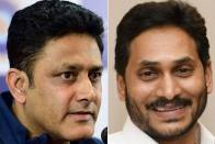 Cricket Legend Anil Kumble Meets Andhra CM Jagan Mohan Reddy, Here's Why