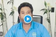 Sachin Tendulkar Sends Best Wishes To India's Tokyo-bound Olympic Contingent - Watch Video Here