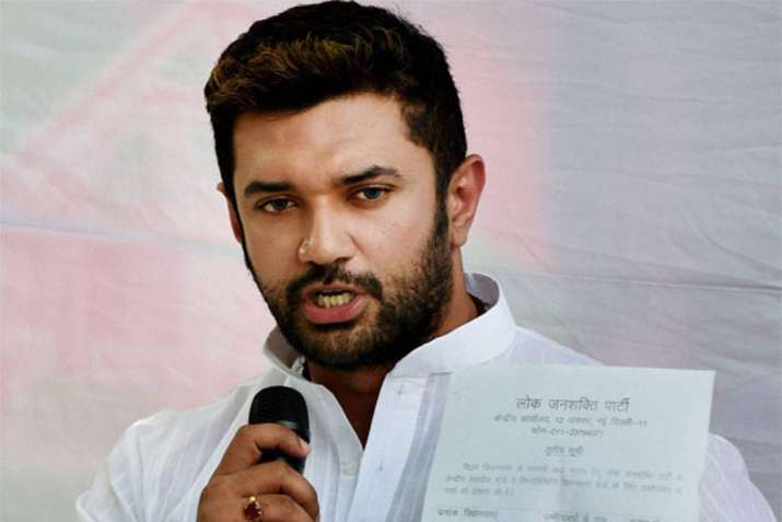 Chirag Objects Induction Of Paras In Union Cabinet, Comes Up With Legal Threat