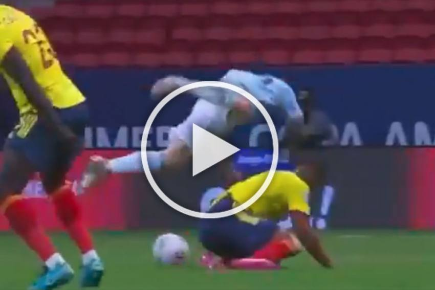 Copa America 2021: Bloodied Lionel Messi In Beast Mode Against Colombia - WATCH