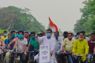 As Petrol Price Breaches Rs 100 Per Litre Mark In Kolkata, TMC Minister Cycles 38 Km In Protest