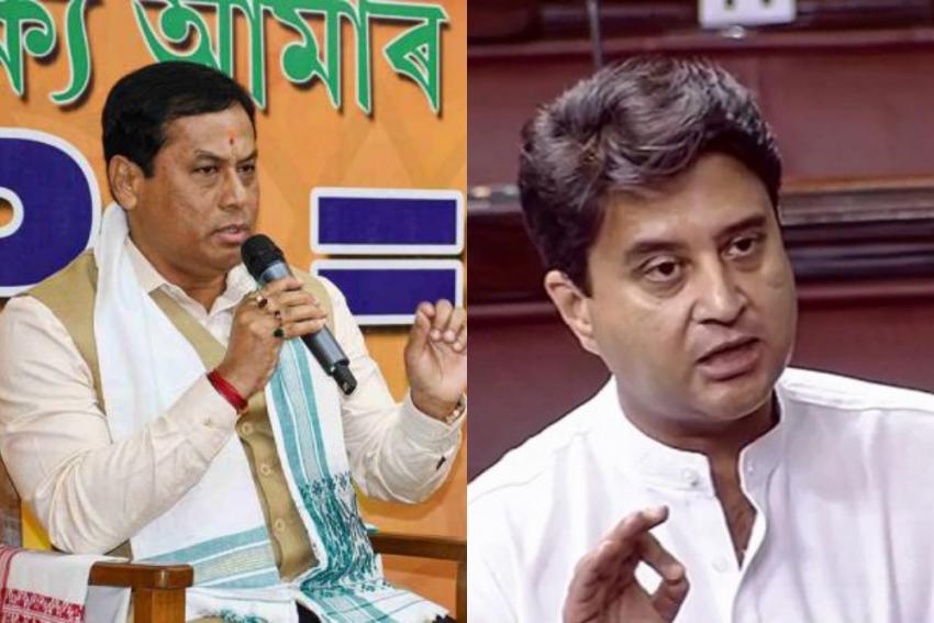 Cabinet Rejig: Scindia, Sonowal Take Oath, 12 Including Ravi Shankar, Javadekar Dropped