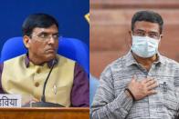 Cabinet Rejig: Mansukh Mandaviya Gets Health, Dharmendra Pradhan Has Education