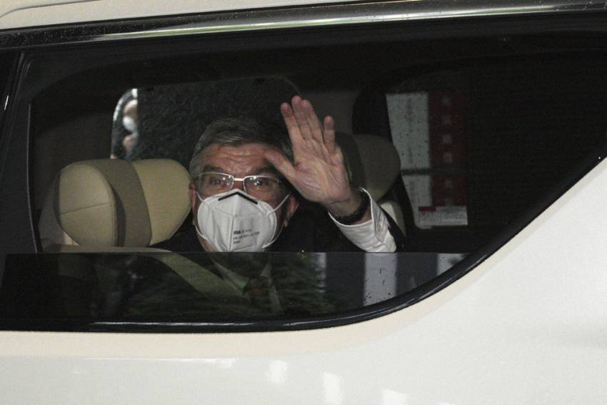 Tokyo Olympics: IOC President Thomas Bach Greeted By State Of Emergency