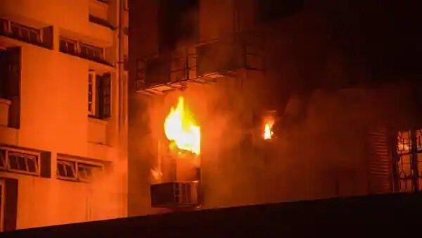 Blaze Engulfed The CBI Building At CGO Complex On Thursday Morning
