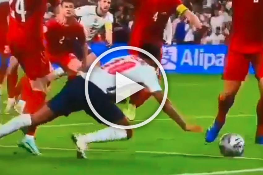Euro 2020: Controversial Raheem Sterling Penalty Spoils England Vs Denmark Clash - WATCH