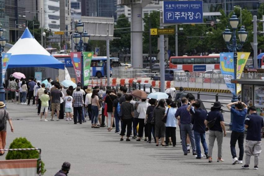 South Korea Records Biggest Jump In Covid Cases Since Start Of Pandemic