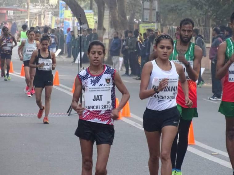 Tokyo Olympic-bound Race Walkers KT Irfan And Bhawana Jat Undergo Fitness Test