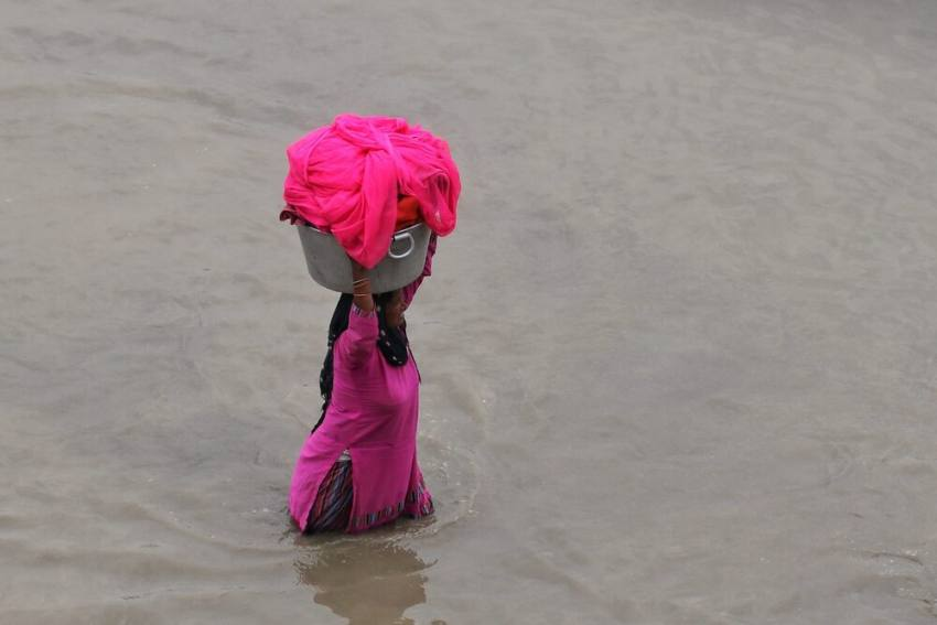 Delhi: Water Level In Yamuna Rises To 205.30 Meters, Over 100 Families Shifted