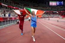 Tokyo Olympics: Friends Gianmarco Tamberi, Mutaz Barshim Settle For High-jump Double Gold