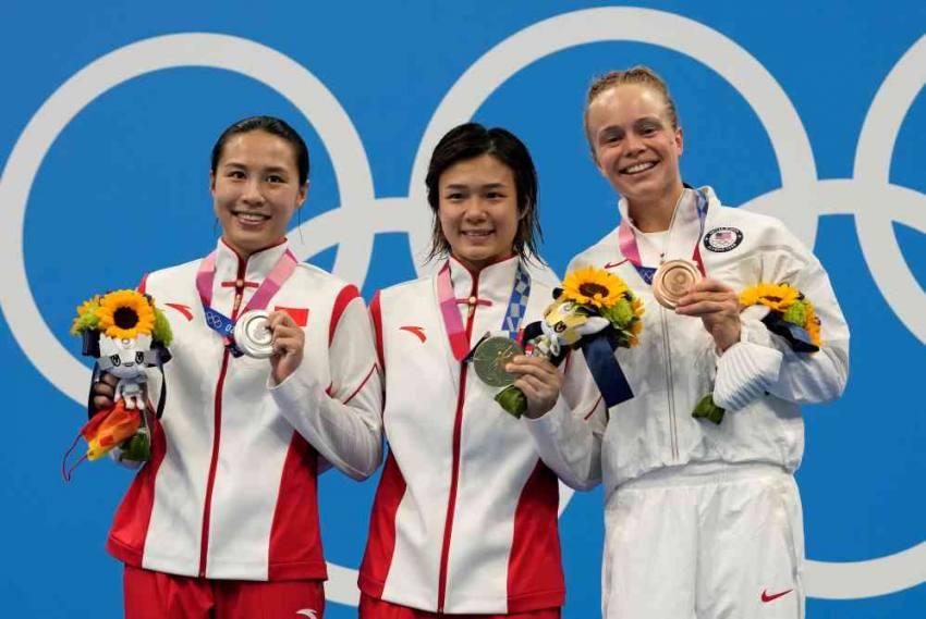 Tokyo Olympics: Shi Tingmao Of China Completes 3m Diving Sweep