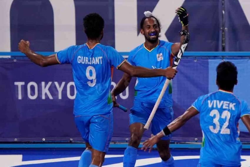 India Men's Hockey Team Beat Great Britain 3-1, Face Belgium In Semi-finals At Tokyo Olympics