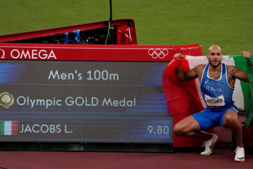 Tokyo Olympics: Italian Marcell Jacobs Takes Surprising Gold In Men's 100m Sprint