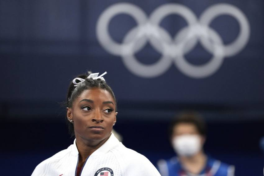 Simone Biles Opts Out Of Floor Exercise Final At Tokyo Olympics