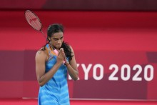 PV Sindhu Beats China's He Bing Jiao, Secures Historic Second Successive Olympic Medal
