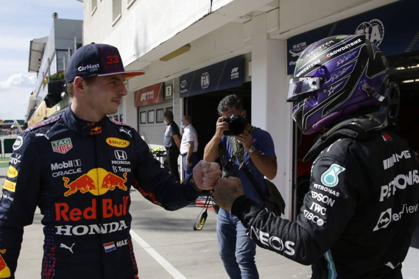 Hungarian Grand Prix: Lewis Hamilton Booed By Max Verstappen Fans