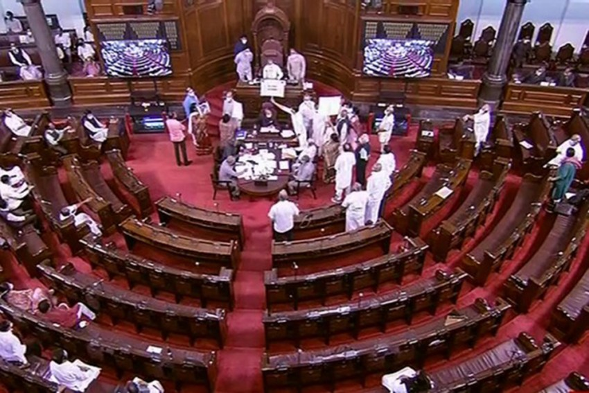 Monsoon Session: Rajya Sabha Lost 40 Working Hours, Productivity Was 21.60% In First 2 Weeks