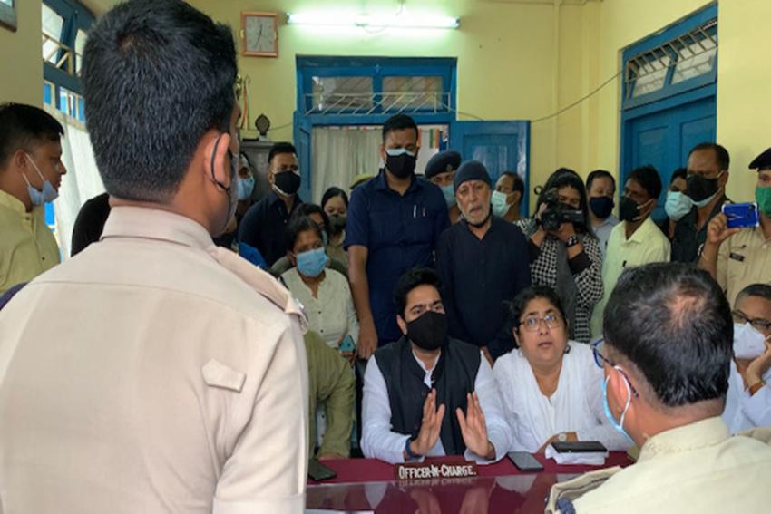 Tripura Police File FIR Against Abhishek Banerjee And 5 Other TMC Leaders