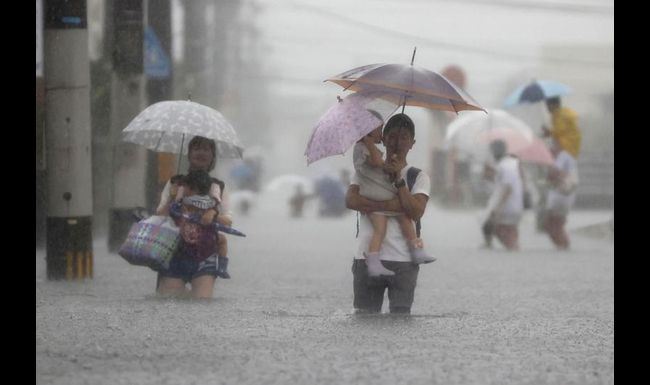Heavy Rain Causes Floods, Mudslides In Southwestern Japan