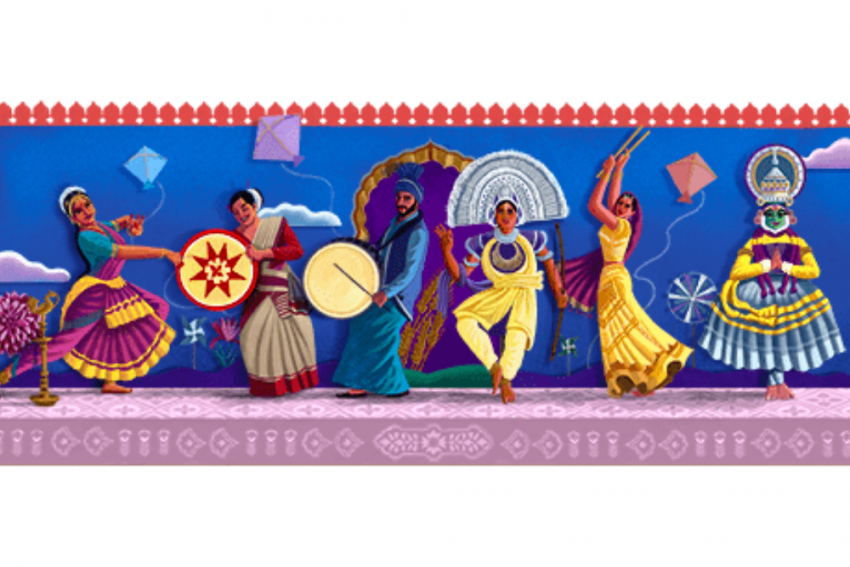 Independence Day: Google Doodle Celebrates Diversity Of Indian Dance Forms