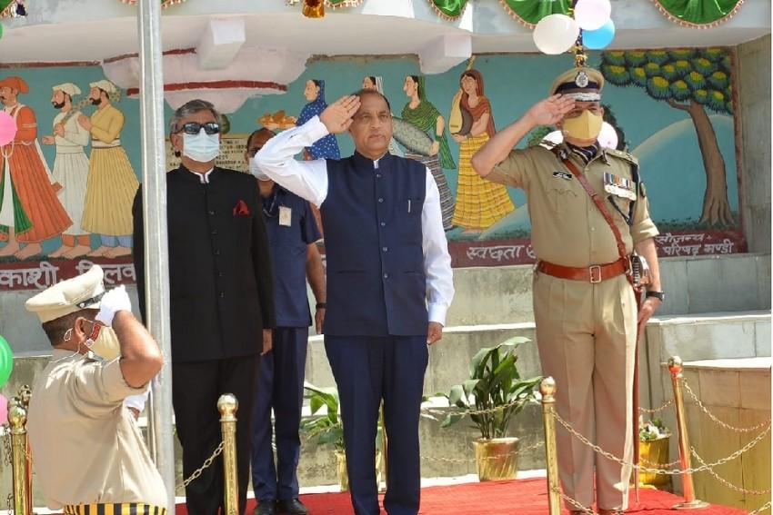 Despite Khalistani Threat, Himachal CM Unfurls Flag In Mandi