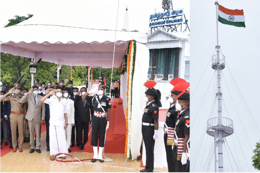 Stalin Unfurls Tricolour, But He Basks In A Right Earned By His Father