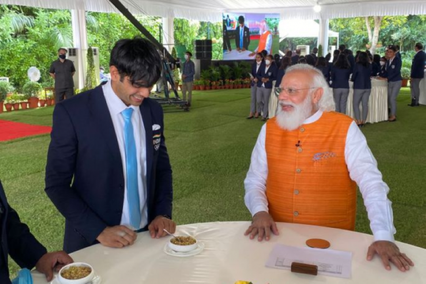India Olympic Contingent Meets Prime Minister Narendra Modi For Breakfast