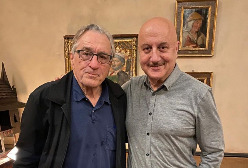 Anupam Kher Calls Robert De Niro 'Godfather Of Acting' And Thanks Him For Hosting Him For Dinner
