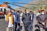 When Himachal CM's New Russian Chopper Turned Saviour For Persons In Distress In Lahaul Spiti