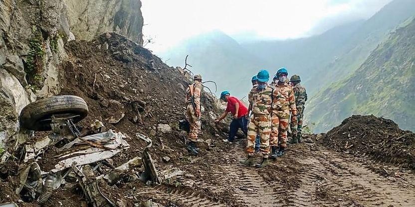 Illegal Mining Induced Landslide Kills One In HP's Mandi, One Injured