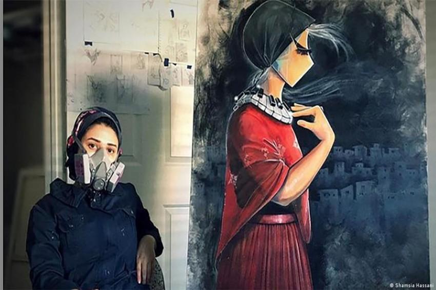 Shamsia Hassani: The Afghan Female Graffiti Artist Capturing Women's Voices