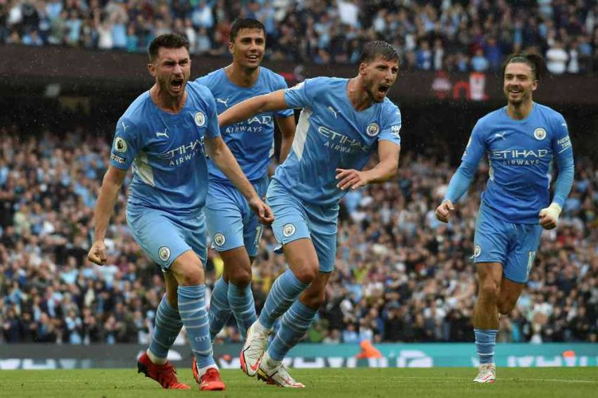 Premier League: Jack Grealish Scores His First Goal As Manchester City Rout Norwich 5-0