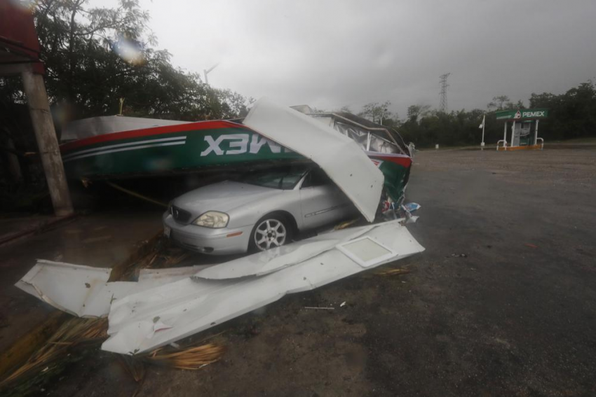 Hurricane Grace Strengthens To Hit Mexico Again