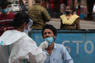 India Records 27,254 Covid-19 Cases, 219 Deaths