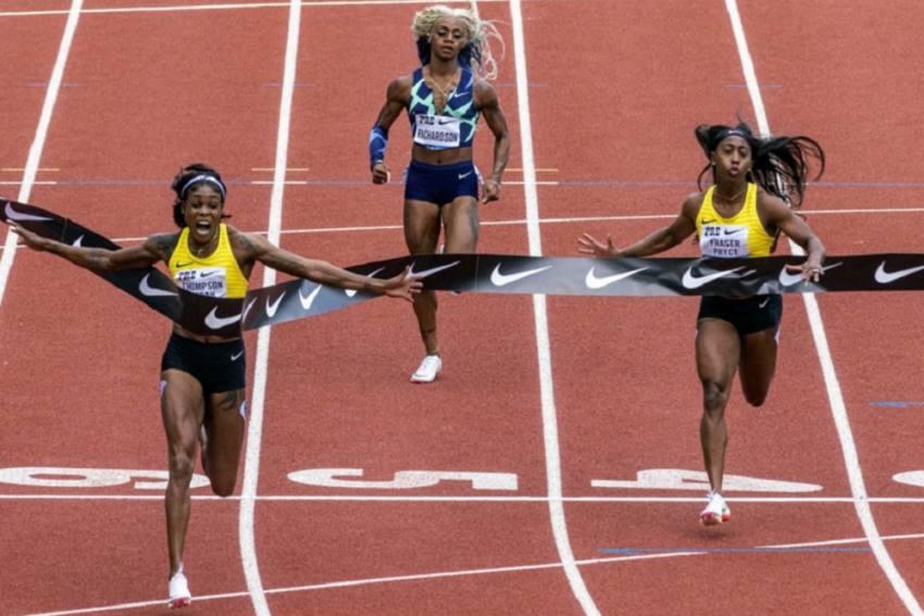 Prefontaine Classic: Jamaican Elaine Thompson-Herah Wins 100m, Sha'Carri Richardson Last In Return