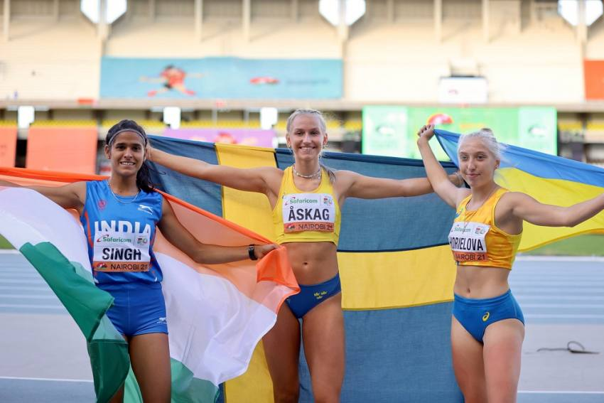 Long Jumper Shaili Singh Misses Gold By 1cm, Settles For Silver In U-20 World Athletics Meet