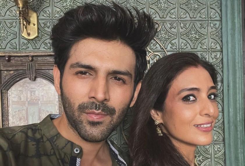 Tabu, Kartik Aaryan Resume Shooting of 'Bhool Bhulaiyaa 2'