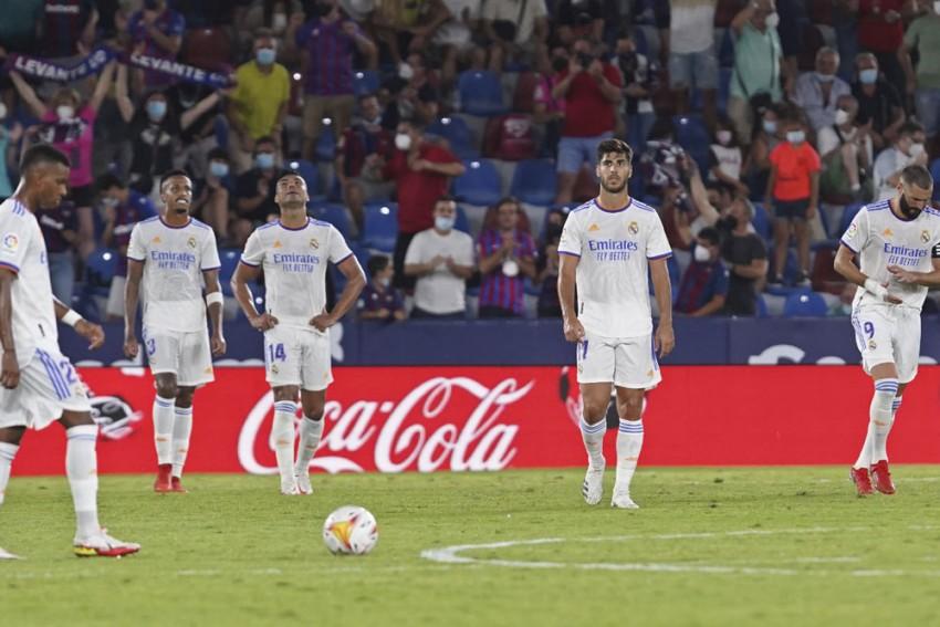 La Liga Roundup: Real Madrid Held By 10-man Levante; Atletico Win Again