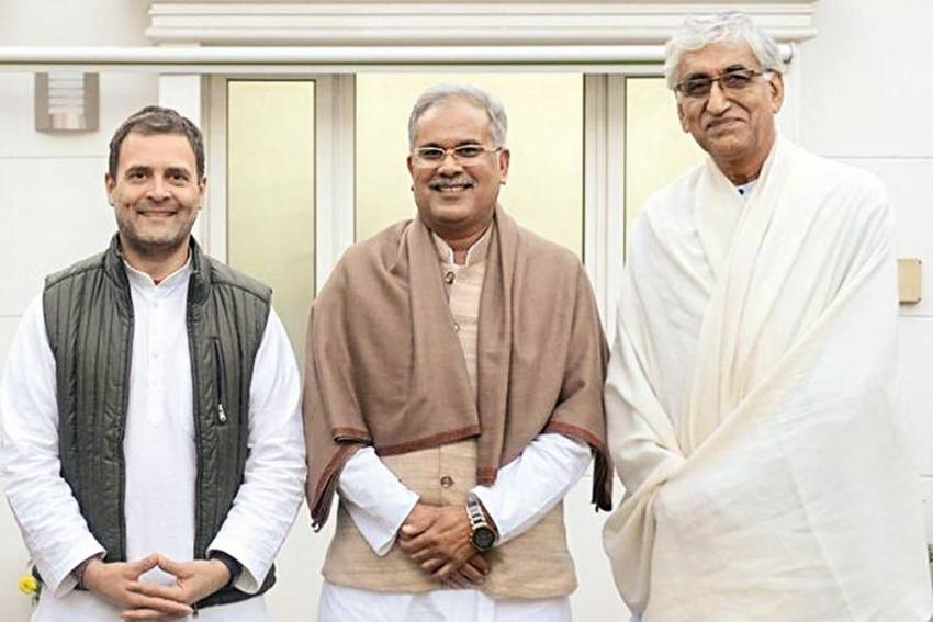Rahul Steps In Again To Resolve Infighting In Chhattisgarh Govt; Bhupesh Baghel To Stay As CM But...