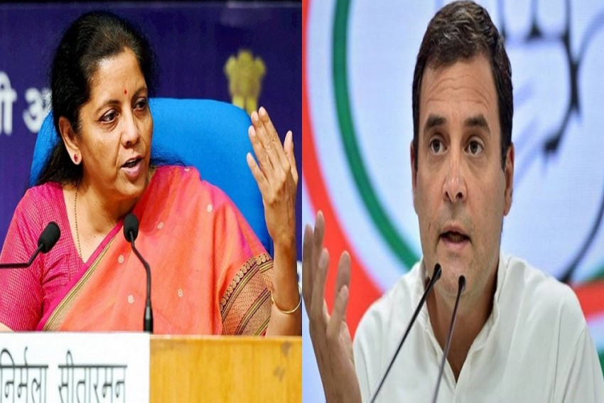 'Congress Received Kickbacks By Selling Resources': Sitharaman Questions Rahul's Understanding Of NMP