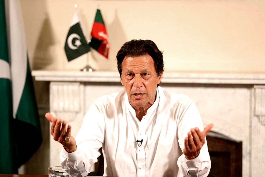 Imran Khan Says 'Positive Engagement' With Kabul Could Avert Humanitarian Crisis In Afghanistan