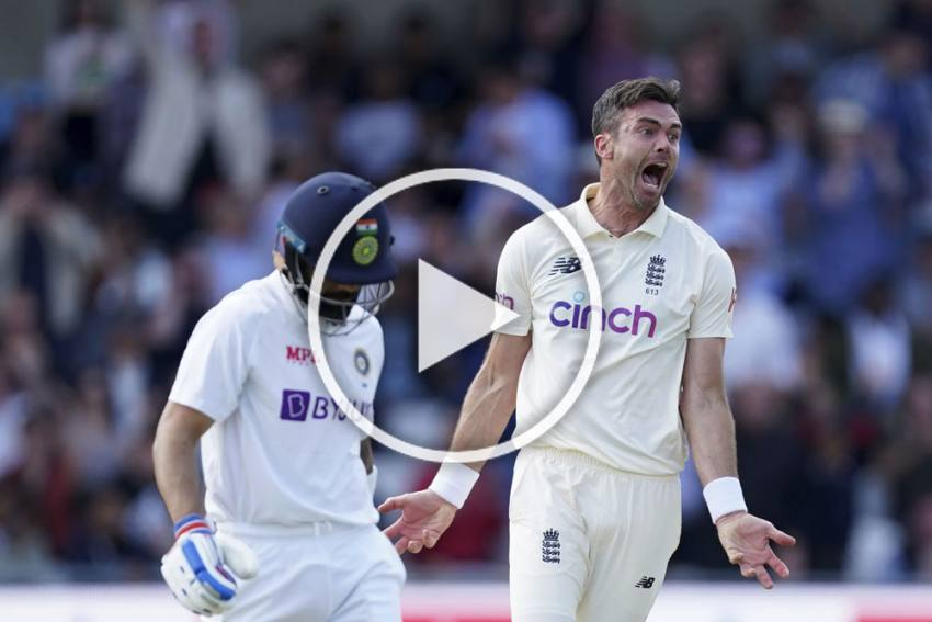 ENG Vs IND, 3rd Test: James Anderson Says Virat Kohli 'Can Be Very Disruptive', WATCH Animated Celebration