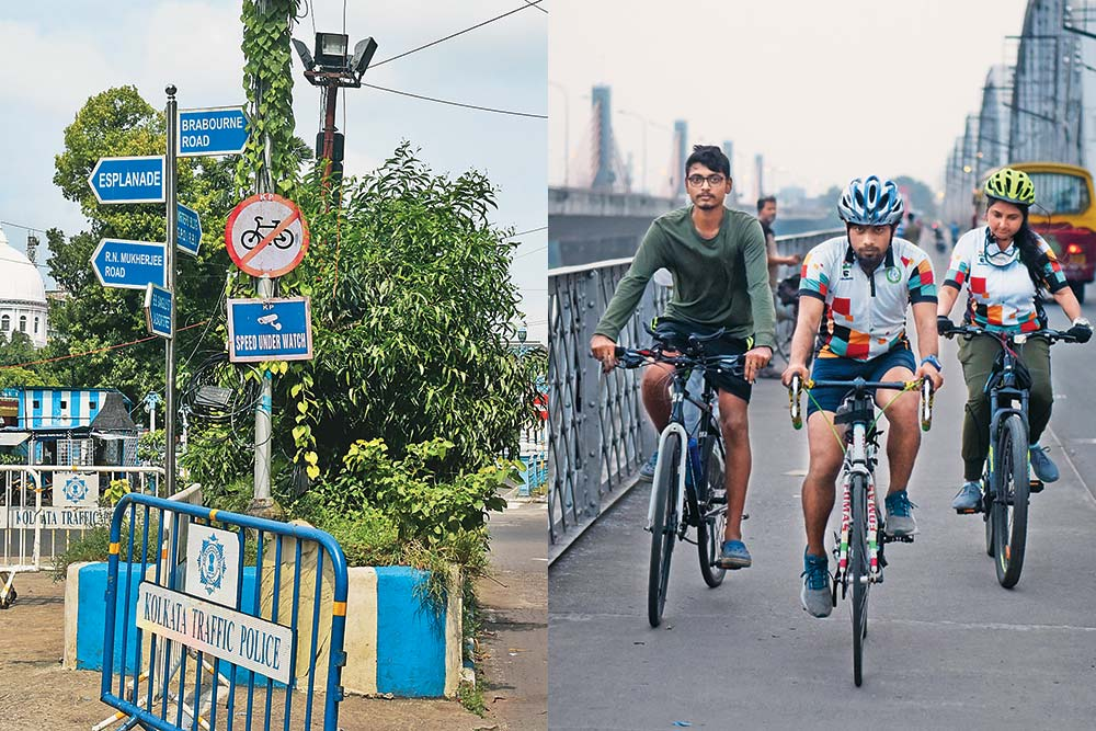 Calcutta Backpedals As It Bans Bicycles From Its Arteries