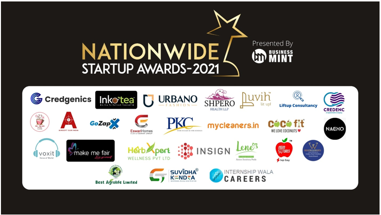 The Winners Of Business Mint's Nationwide Start-Up Awards-2021