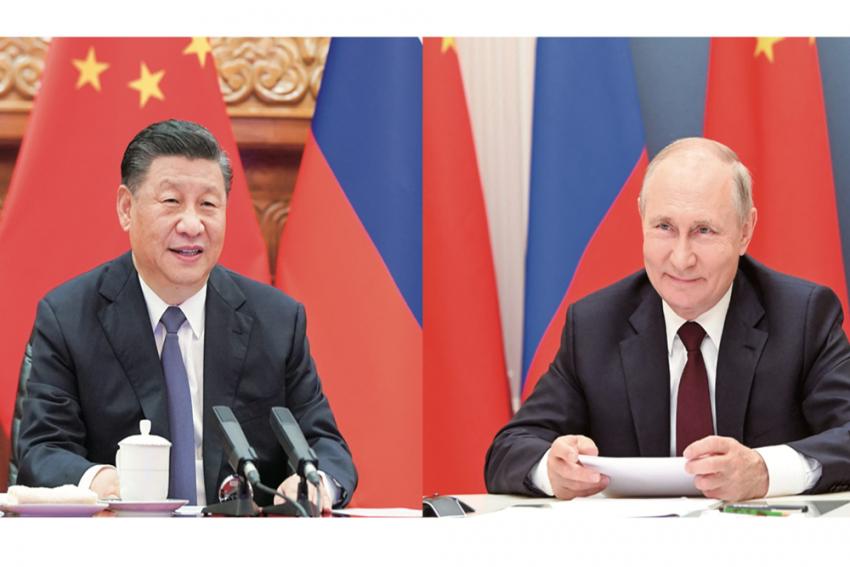 New Govt In Kabul Should 'Thoroughly Dissociate' From Terrorist Groups: Xi Jinping To Vladimir Putin