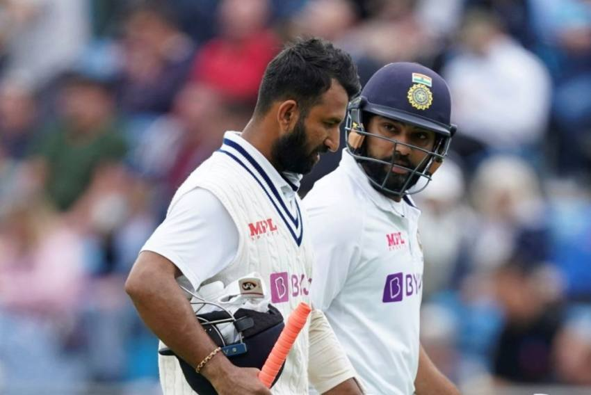 ENG Vs IND, 3rd Test: Rohit Sharma Hits Fifty As India Reach 112 For 1 At Tea On Day 3