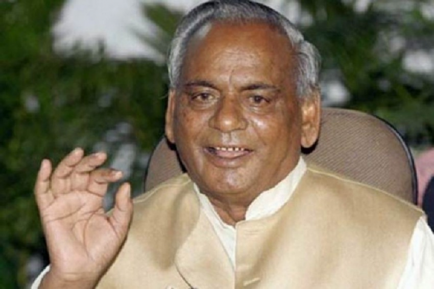 With Immersion Of Kalyan Singh's Ashes In Ganga, BJP Starts 'Asthi Kalash Yatra' In Poll-Bound UP